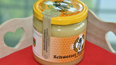 Den guten Ruf des Schweizer Honigs verteidigt